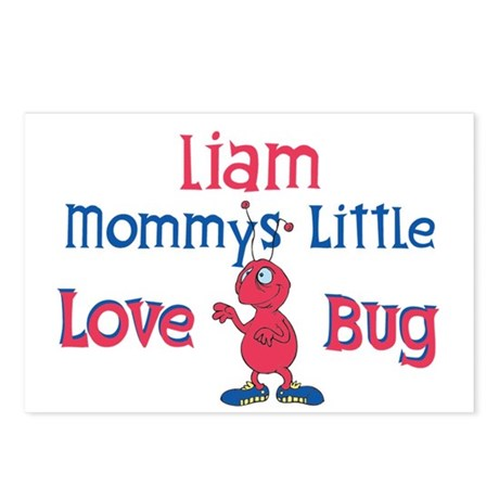 Liam - Mommy's Love Bug Postcards (Package of 8)