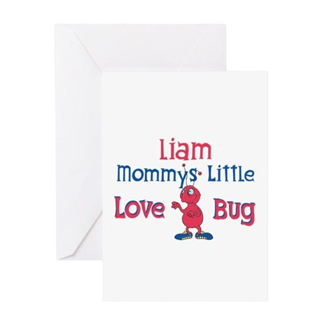 Liam - Mommy's Love Bug Greeting Card