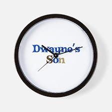 Dwayne's Son Wall Clock