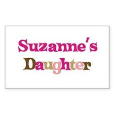 Suzanne's Daughter Rectangle Decal