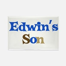 Edwin's Son Rectangle Magnet
