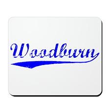 Vintage Woodburn (Blue) Mousepad