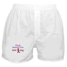 Micah - Mommy's Love Bug Boxer Shorts