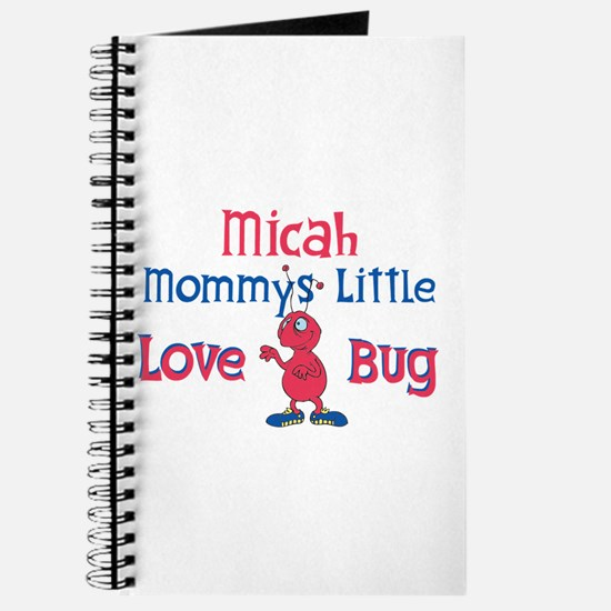 Micah - Mommy's Love Bug Journal