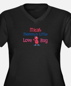 Micah - Mommy's Love Bug Women's Plus Size V-Neck
