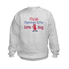 Micah - Mommy's Love Bug Sweatshirt