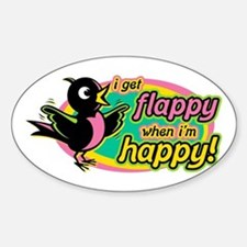 Flappy/Happy (GP2) Oval Decal