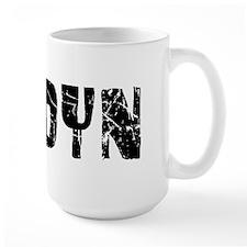 Jordyn Faded (Black) Mug