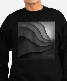 Black Abstract Sweatshirt (dark)