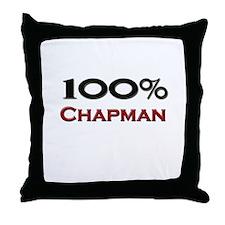 100 Percent Chapman Throw Pillow