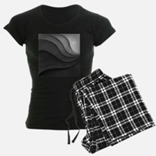Black Abstract pajamas