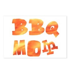 BBQ Mom Barbecue Summer Postcards (Package of 8)