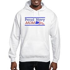 Proud Navy Mom Jumper Hoody