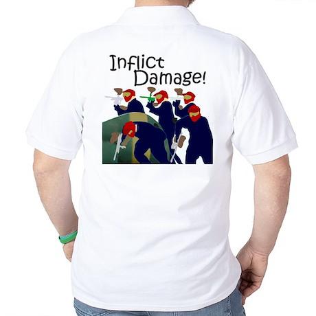 Inflict Damage II Golf Shirt