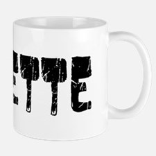 Josette Faded (Black) Mug