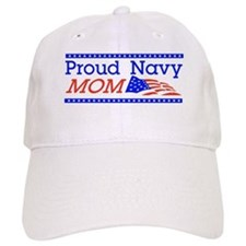 Proud Navy Mom Baseball Cap