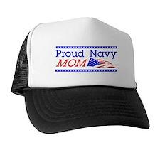 Proud Navy Mom Trucker Hat