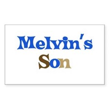 Melvin's Son Rectangle Decal