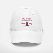 Sebastian - Mommy's Love Bug Baseball Baseball Cap