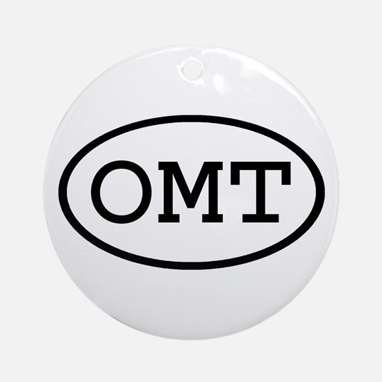 OMT Oval Ornament (Round)