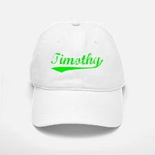 Vintage Timothy (Green) Baseball Baseball Cap