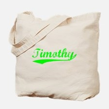 Vintage Timothy (Green) Tote Bag