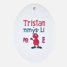 Tristan - Mommy's Love Bug Oval Ornament