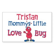 Tristan - Mommy's Love Bug Rectangle Decal