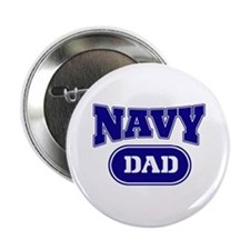 """Navy dad 2.25"""" Button"""