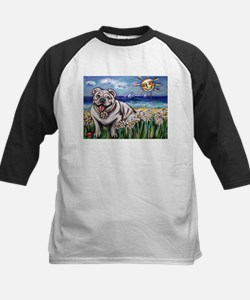 Happy Daisy Bulldog under the Tee