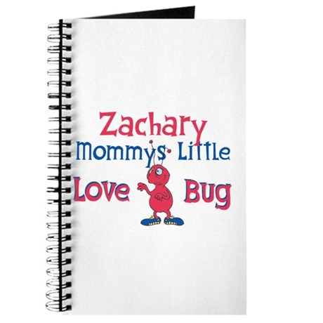 Zachary - Mommy's Love Bug Journal