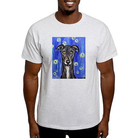 Portrait of a greyhound Light T-Shirt