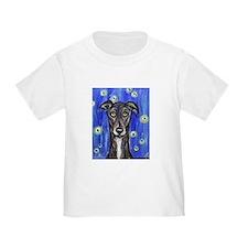 Portrait of a greyhound T