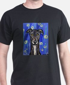 Portrait of a greyhound T-Shirt