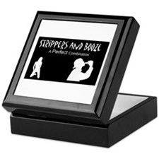 Cute Strippers Keepsake Box