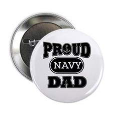 """Proud Navy dad 2.25"""" Button"""