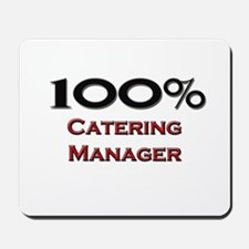 100 Percent Catering Manager Mousepad