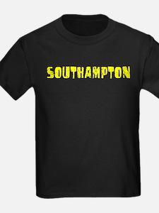 Southampton Faded (Gold) T
