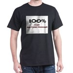 100 Percent Cash And Carry Manager Dark T-Shirt