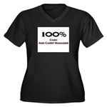 100 Percent Cash And Carry Manager Women's Plus Si