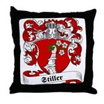 Stiller Family Crest Throw Pillow