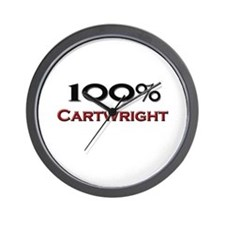 100 Percent Cartwright Wall Clock