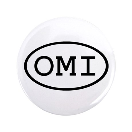 "OMI Oval 3.5"" Button"