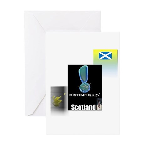 Contemporary Scotland.1-2 Greeting Card