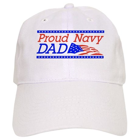 Proud Navy dad Cap