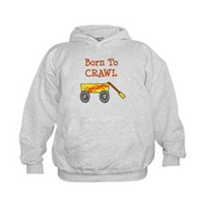 Born To Rock Crawl Hoodie