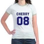 Cherry 08 Jr. Ringer T-Shirt