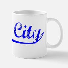 Vintage Yuba City (Blue) Mug