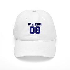 Davidson 08 Baseball Cap