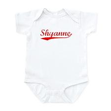 Vintage Shyanne (Red) Infant Bodysuit